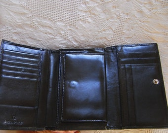 "COTTON ROAD""Leather wallet, Top quality, excellent condition, leather, ""Cotton Road"""