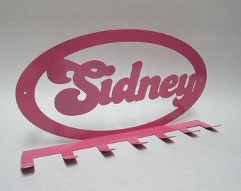 Jewelry or Scarf Holder Personalized CNC Cut