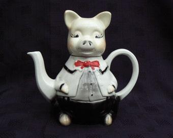 Tony Wood Studios, Master Piggy Novelty Tea pot