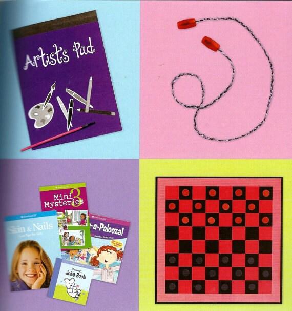 Kids craft kit make american girl doll accessories 30 for American girl craft kit