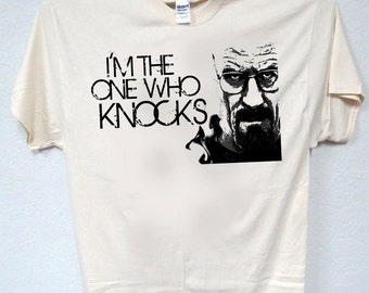 "BREAKING BAD Inspired,""I'm The One Who Knocks"" T-SHIRTS,,T-937"