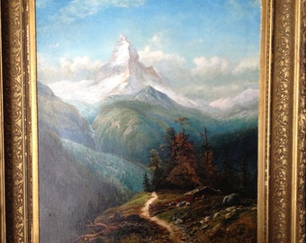 Edmund Darch Lewis Oil Painting