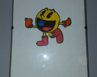 Hand Drawn PacMan Canvas