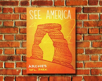 Arches National Park Poster - #0830