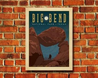 Big Bend National Park Poster - #0360
