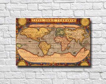 World Map Poster - #401