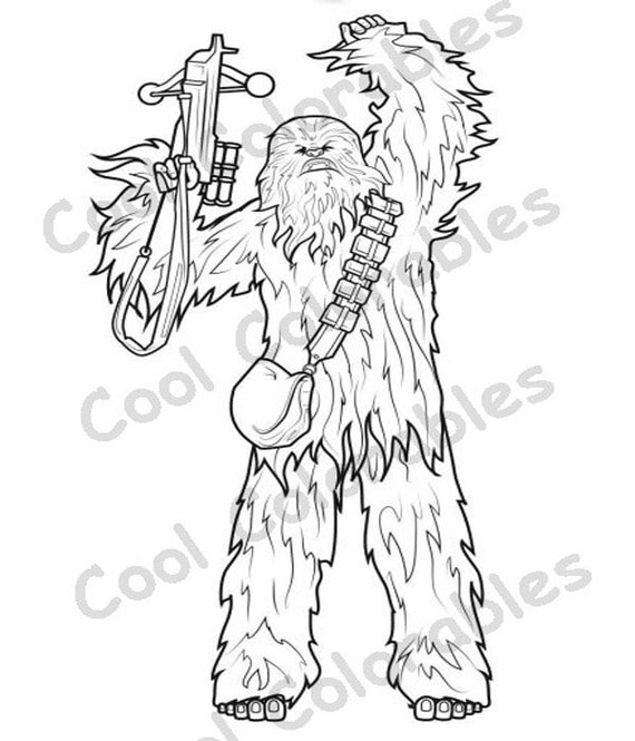 Lego chewbacca coloring pages