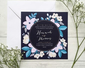 Adventurous Wedding Invitation