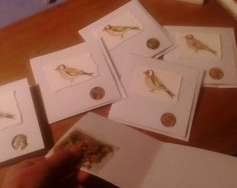 Goldfinch cards