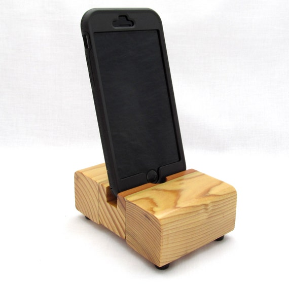 Wooden Charging Dock ~ Wood iphone dock charging station charger ipod