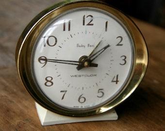 Vintage Westclox Baby Ben Alarm Clock Mid Century