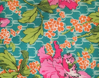 SALE 1/2 YD or 1 YARD Fabric - Amy Butler - Violette - Field Poppy - Rose