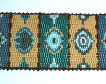 Reversible bracelet beads Miyuki