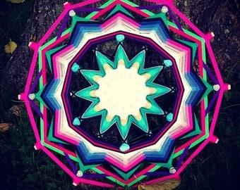 """Mandala Ojo de Dios """"Cosmos"""""""