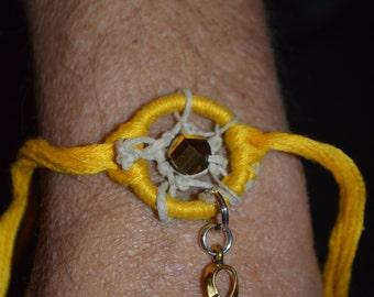 Mini dream catcher bracelet