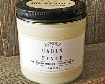 Mr. Cabin Fever - Phthalate Free Soy Candle