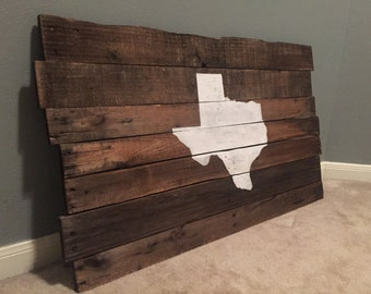 State of Texas Pallet Sign