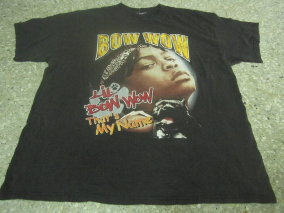 Vintage 90 39 S Lil Bow Wow Beware Of Dog Rap Hip Hop Old