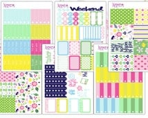 Blooming Flowers OLD FORMAT Weekly Kit for the Erin Condren Vertical, Horizontal, or Happy Planner