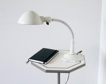 Vintage Gooseneck Desk Lamp