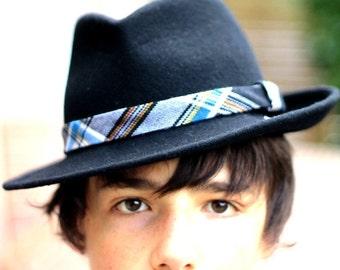 Borsalino tartan Normandy BayMyth headband