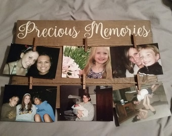 Precious Memories Picture Holder