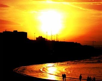 Sea sunset - Printed Photo