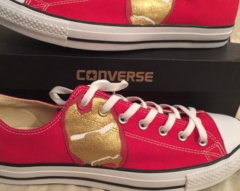 Iron Man Converse Shoes