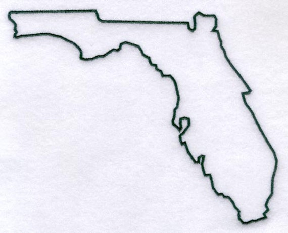 Florida Stencil Made From 4 Ply Mat Board By