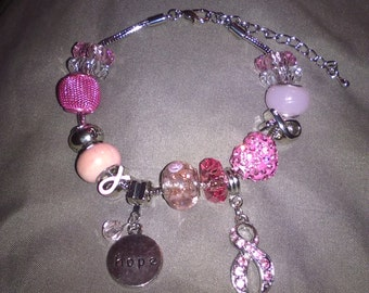 Berakhah Bracelet (Breast Cancer)