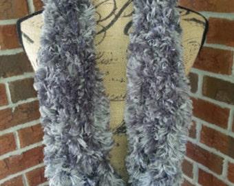 Handmade Fur Infinity Scarf