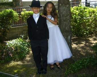 Special Occasion Matching Boys Tie and Girls Dress