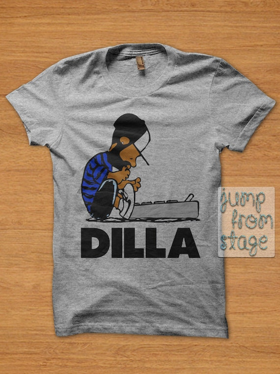 Fast shipping dilla schroeder t shirt unisex hip hop by for Fast delivery custom t shirts