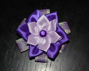Flowers hair clips