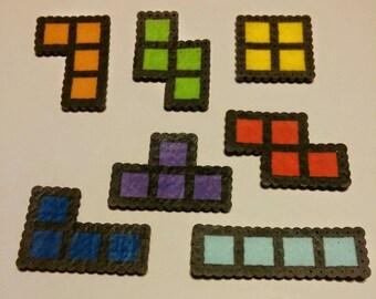 Tetris block magnet playset, Nintendo, Gameboy