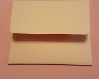 25 Colored Envelopes 5x6--Any Color--Invitations--Birthday--Baby Shower--Any Size