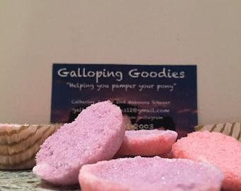 10 Pink/Purple Sugar Cubes