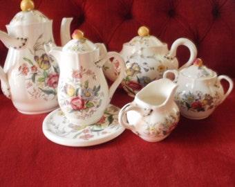 SPODE GAINSBOROUGH Coffee, Tea and Chocolate Set by Copeland.