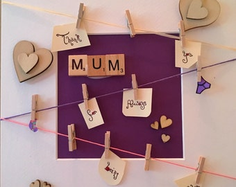 Mother's Day washing line