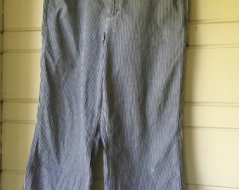 "Vintage Big Mac Railroad Stripe jeans 38""x30"""
