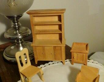 Vintage for doll house furniture