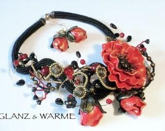 Jewelry set 'Joy' necklace + earrings