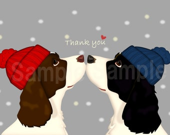 English springer spaniel 3illustration