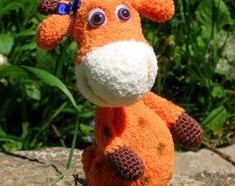 Giraffe (crochet toy)