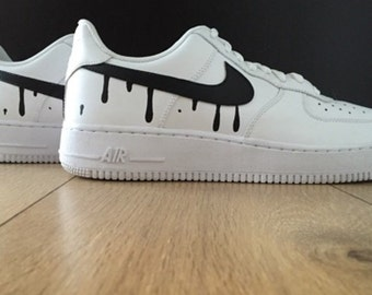 Famous Dripping Swoosh Air Force 1s