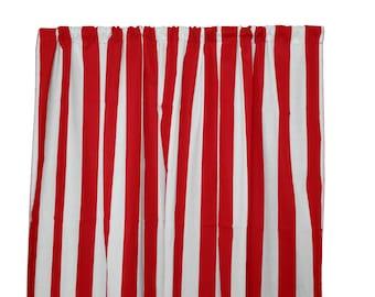 Large Stripe Curtain Etsy
