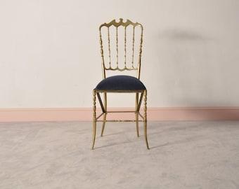 Brass Chiavari Chair by Giuseppe Gaetano Descalzi, 1965
