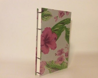 """8.5"""" x. 5"""" Hisbiscus  Large Book"""
