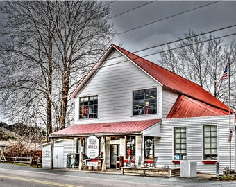 Mast General Store, Valle Crucis, North Carolina, Mountains, Boone, Red Roof, Old