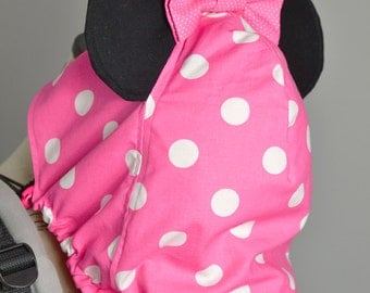 Tula Standard OR Toddler Minnie OR Mickey Mouse Tula Slipcover & Accessories